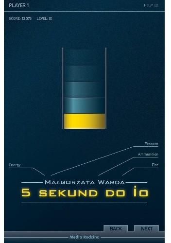 Okładka książki 5 sekund do IO