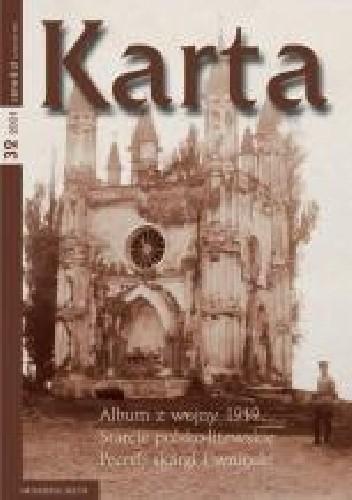 Okładka książki Karta. Kwartalnik historyczny, nr 32