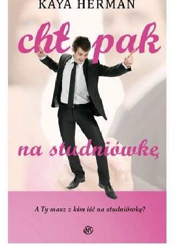 Okładka książki Chłopak na studniówkę