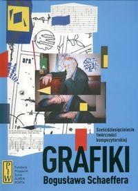 Okładka książki Grafiki Bogusława Schaeffera