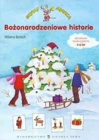 Okładka książki Bożonarodzeniowe historie
