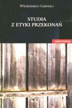 Okładka książki Studia z etyki przekonań