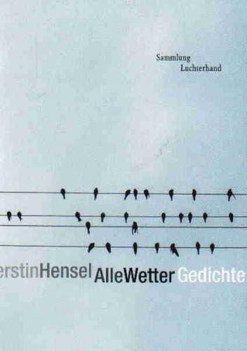 Okładka książki Alle Wetter Gedichte