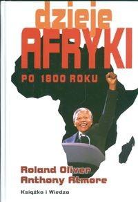 Okładka książki Dzieje Afryki po 1800 roku