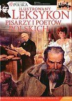 Okładka książki Ilustrowany leksykon pisarzy i poetów polskich