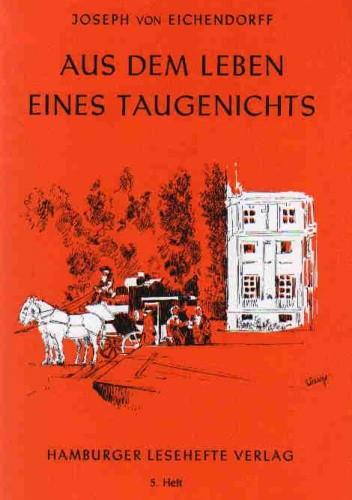 Okładka książki Aus dem Leben eines Taugenichts