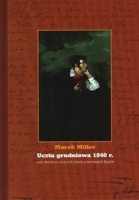 Okładka książki Uczta grudniowa 1840 r.