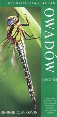 Okładka książki Kieszonkowy atlas owadów i pajęczaków