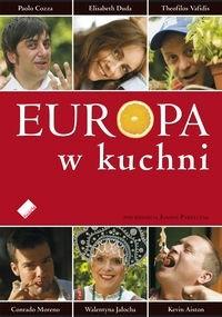 Okładka książki Europa w kuchni