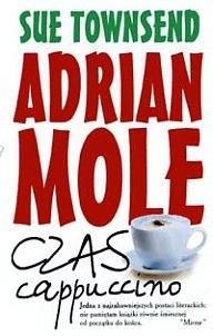 Okładka książki Adrian Mole. Czas cappuccino