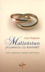 Okładka książki Małżeństwo przymierze czy kontrakt