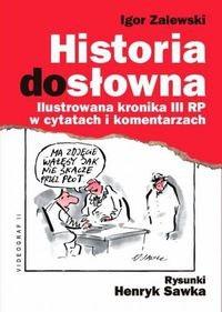 Okładka książki Historia dosłowna
