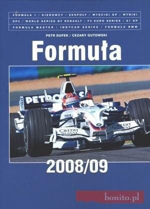 Okładka książki Formuła 2008/09