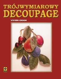 Okładka książki Trójwymiarowy decoupage