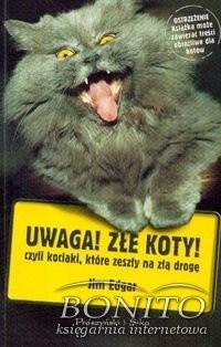 Okładka książki Uwaga! Złe koty! czyli kociaki, które zeszły na złą drogę