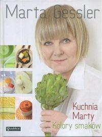 Okładka książki Kuchnia Marty. Kolory smaków