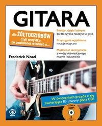 Okładka książki Gitara dla żółtodziobów /Dla żółtodziobów