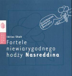Okładka książki Fortele niewiarygodnego hodży Nasreddina