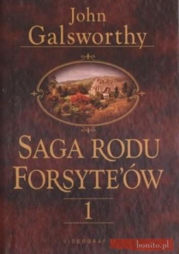 Okładka książki Saga rodu Forsyte'ów. Posiadacz tom 1
