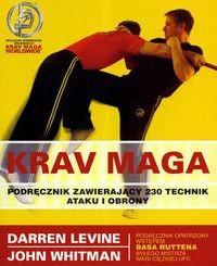 Okładka książki Krav Maga Podręcznik zawierający 230 technik ataku i obrony