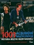Okładka książki 1001 albumów muzycznych Historia muzyki rozrywkowej
