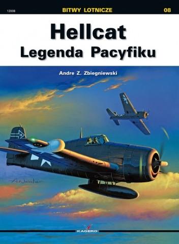 Okładka książki Hellcat -  Legenda Pacyfiku / Bitwy lotnicze nr 08