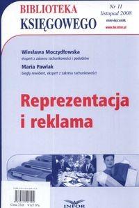 Okładka książki Reprezentacja i reklama