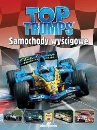 Okładka książki Top Trumps Samochody wyścigowe