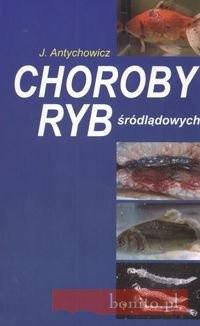 Okładka książki Choroby ryb śródlądowych