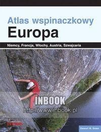 Okładka książki Atlas wspinaczkowy. Europa