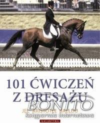 Okładka książki 101 ćwiczeń z dresażu dla konia i jeźdźca