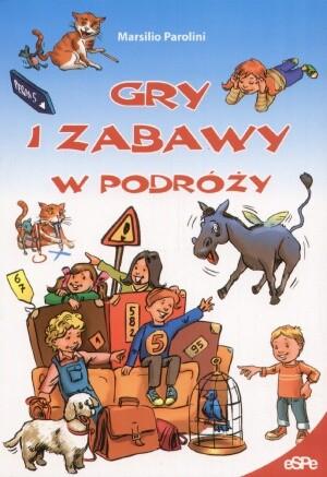 Okładka książki Gry i zabawy w podróży