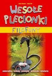 Okładka książki Wesołe plecionki filofuny