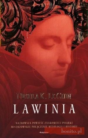 Okładka książki Lawinia