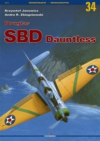 Okładka książki Douglas SBD Dauntless