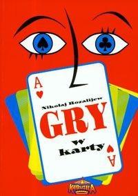 Okładka książki Gry w karty