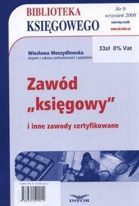 Okładka książki Biblioteka Księgowego 2008/09 zawód księgowy