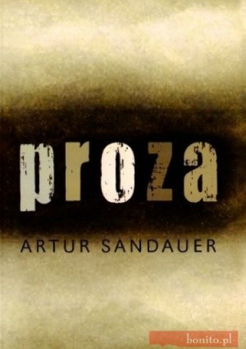 Okładka książki Proza