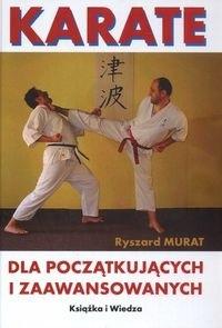 Okładka książki Karate dla początkujących i zaawansowanych