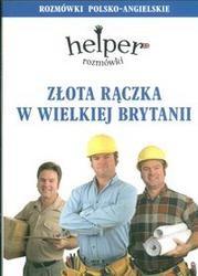 Okładka książki złota rączka w Wielkiej Brytanii /Rozmówki polsko-angielskie