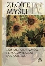 Okładka książki Złote myśli IV