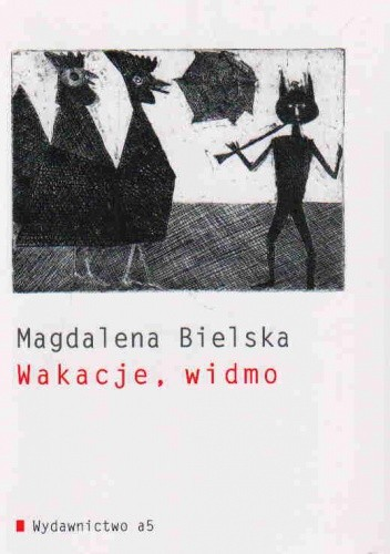 Okładka książki Wakacje, widmo