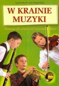 Okładka książki W krainie muzyki. Podręcznik dla uczniów szkół muzycznych I stopnia