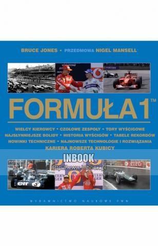 Okładka książki Formuła 1 - Bruce Jones