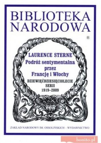 Okładka książki Podróż sentymentalna przez Francję i Włochy