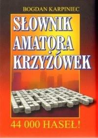 Okładka książki Słownik amatora krzyżówek