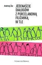 Okładka książki Jedenaście dialogów z porcelanową filiżanką w tle