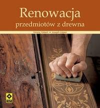 Okładka książki Renowacja przedmiotów z drewna