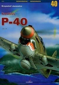 Okładka książki Curtiss P-40 II