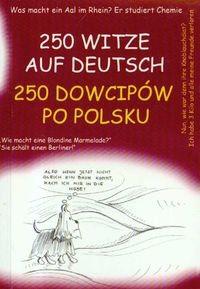 Okładka książki 250 dowcipów po polsku 250 witze auf deutsch